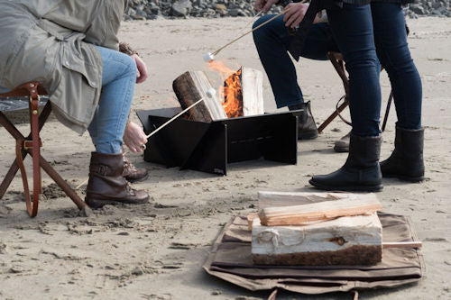 The Stahl Camper And Frost River Firepit Sling Go Hand In Hand When Camping.