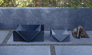 Stahl Firepit Australia | Designer Firepit | Modern Firepit | Outdoor Firepit Australia | Firepit for Sale | Stahl Patio For Courtyards