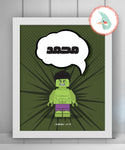 Personalized The Hulk {DIGITAL}