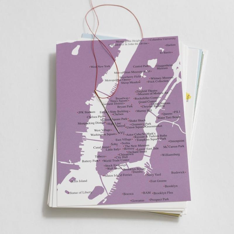 Postkarte MANHATTAN