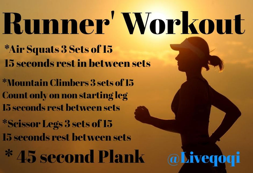 Free Workout June 27 2019.  Attention Runners!