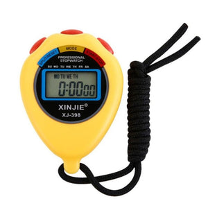 Timezone #301 Practical Stopwatch Stop Watch LCD Digital Professional Chronograph Timer Counter Sports