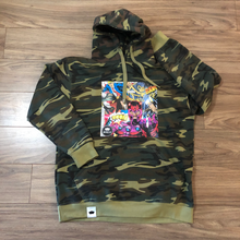 Load image into Gallery viewer, Issue Number One Hoodie (Green Camo)