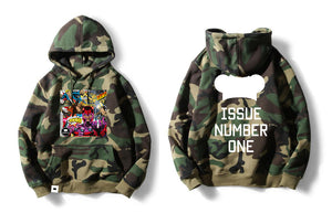 Issue Number One Hoodie (Green Camo)