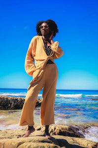 Castaways Beach Pant Golden Sand