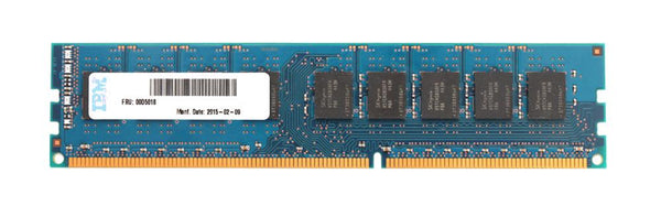 IBM 8GB 2Rx8 DDR3 PC3L-12800E ECC Buffered Memory (00D5018)
