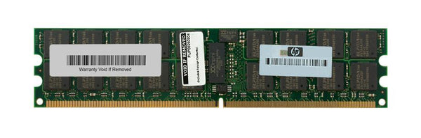 4GB (2X2Gb) PC2-5300P 2Rx4 ECC Registered Cl5 240-Pin Memory Kit For Original Servers (408853-B21)