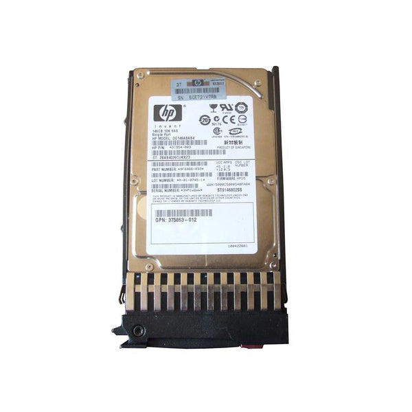 HP 146GB 10K SAS 2.5 Hard Drive (431954-003)