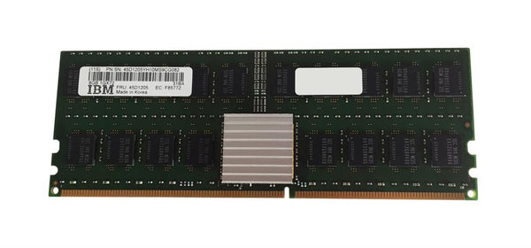 8GB DDR2 400MHz 4R ECC Registered Cl3 276-Pin Low Current Memory Module (45D1205)