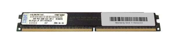 8GB Kit (2X4Gb) PC2-6400 DDR2-800MHz ECC Registered Cl6 Vlp (46C0510)