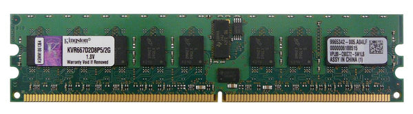2GB Pc-5300R DDR2-667 2GB ECC / REG Server (KVR667D2D8P5/2G)