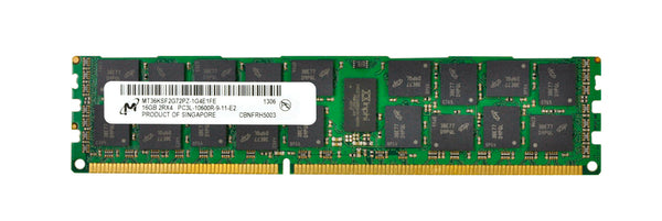Micron 16GB 2Rx4 PC3L-10600R DDR3 ECC Registered Memory (MT36KSF2G72PZ-1G4E1)