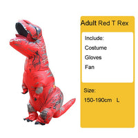 Halloween Inflatable Dinosaur Costume for Adults and Kids