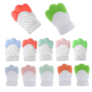 Baby Silicone Teether Glove