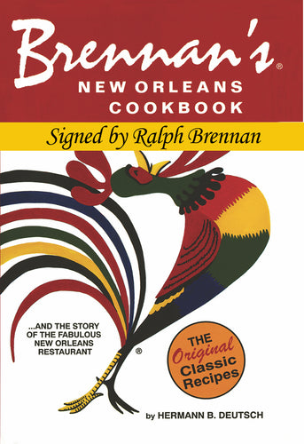 Brennan's Cookbook - Signed