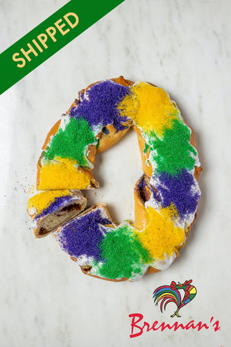 SHIPPED - Traditional King Cake