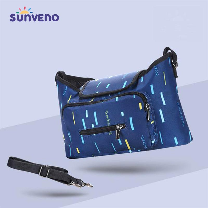 Waterproof Polyester Shoulder Messenger Bag - SV22698