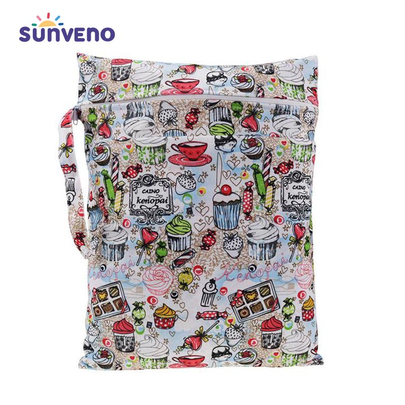 Sunveno Mother Baby Care Colourful Travel Diaper Bag - SV1256