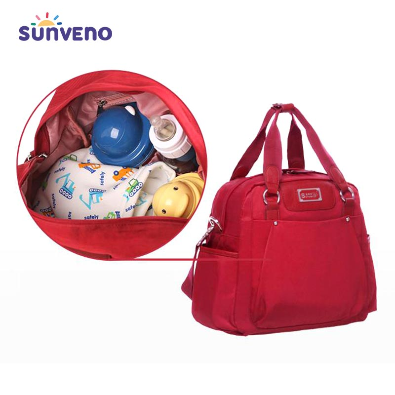 High Capacity Stylish Diaper Bag - SV5493