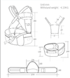 Comfortable and Stylish Kangaroo Hipseat Baby Carrier - SV1821