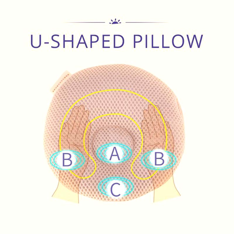 U-Shaped Breathable Baby Pillow - SV13299
