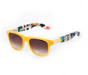 RAW Artist Jason Acton painted SOLO Eyewear sunglasses
