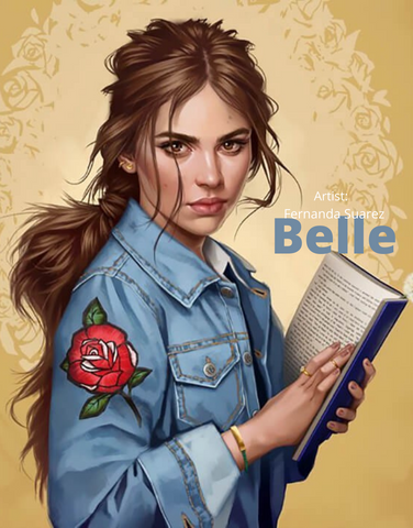 Disney Belle - The Bookworm - Beauty and The Beast