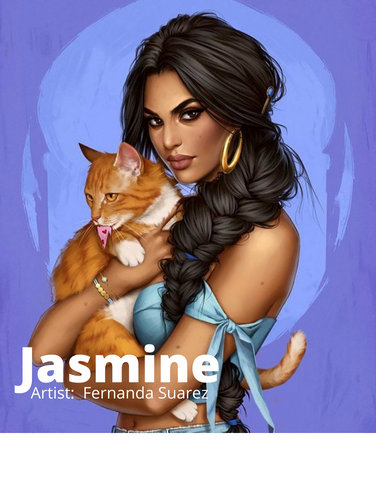 Jasmine -  Alladdin's Strong-Willed Disney Princess