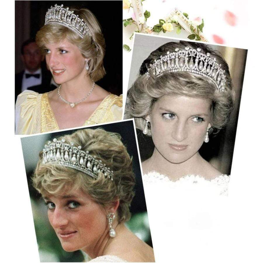 Amazing Copy Princess Diana's Bridal Tiara/Crown - 3DVanity.com
