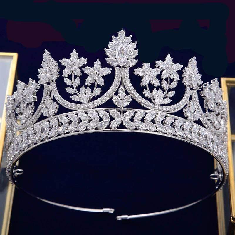 Replica CZ Royal Queen Bridal Tiara - 3DVanity.com