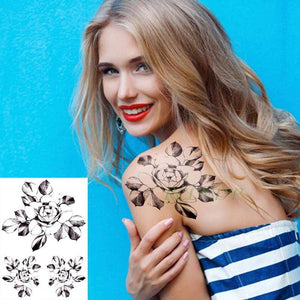 Waterproof Temporary Tattoo Stickers - 3DVanity.com
