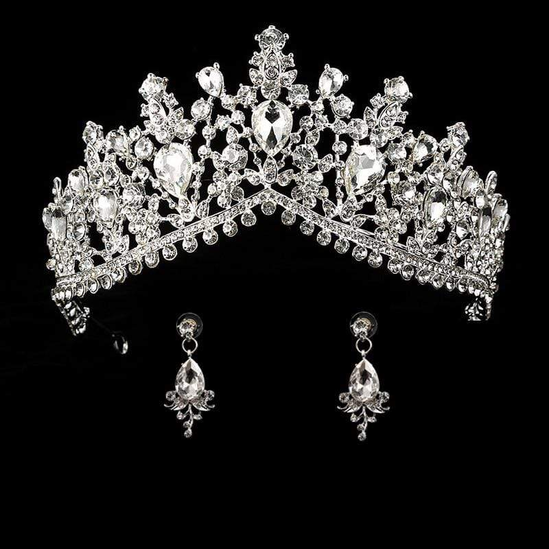 Wedding Tiara Sets with Matching Earrings - 3DVanity.com