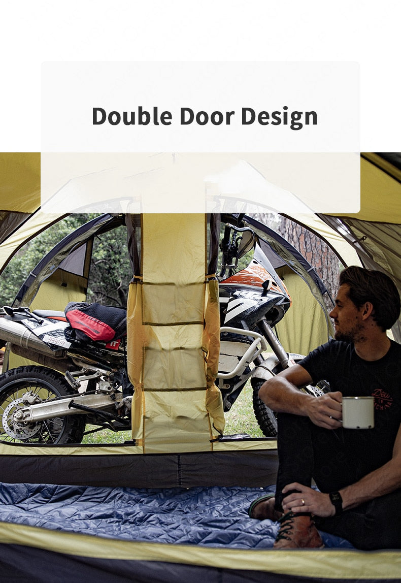 2 Person 4 Season Motorcycle Tent