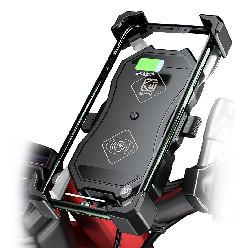 MoCharge Wireless Motorcycle Phone Charger & Holder