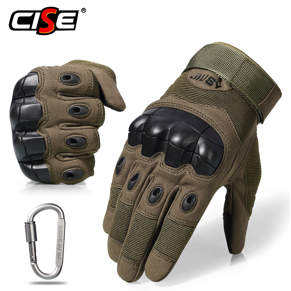 Full Finger & Fingerless Tactical Touchscreen Friendly Hard Knuckle Gloves