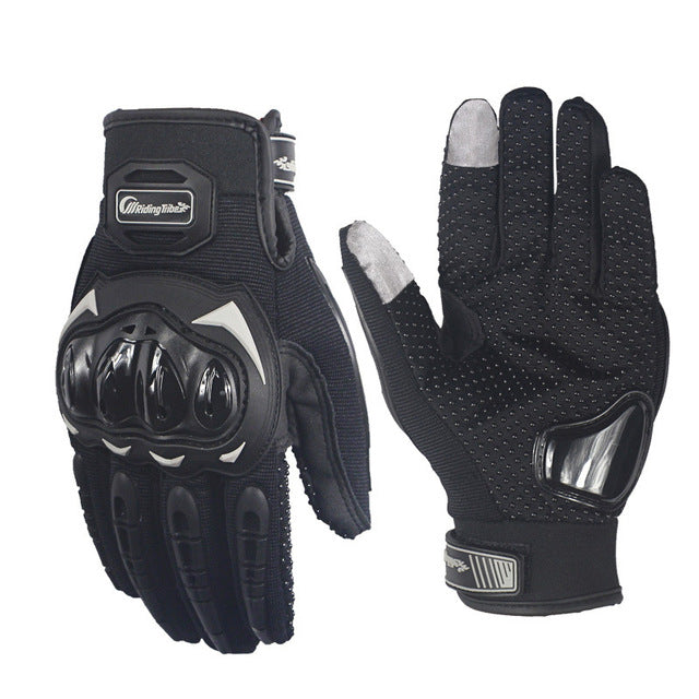 Riding Tribe Summer Weight Touchscreen Motorcycle Gloves