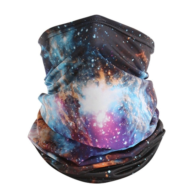 Cool! Galaxy Space Theme Buffs and Neck Gaiters