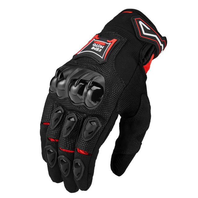 KEMIMOTO Summer Weight Touch Screen Motorcycle Gloves