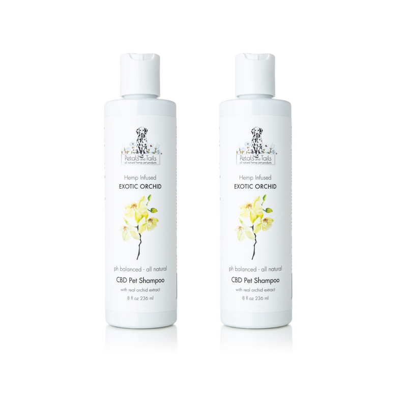 Exotic Orchid Hemp Pet Shampoo