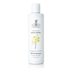 Exotic Orchid CBD Pet Shampoo