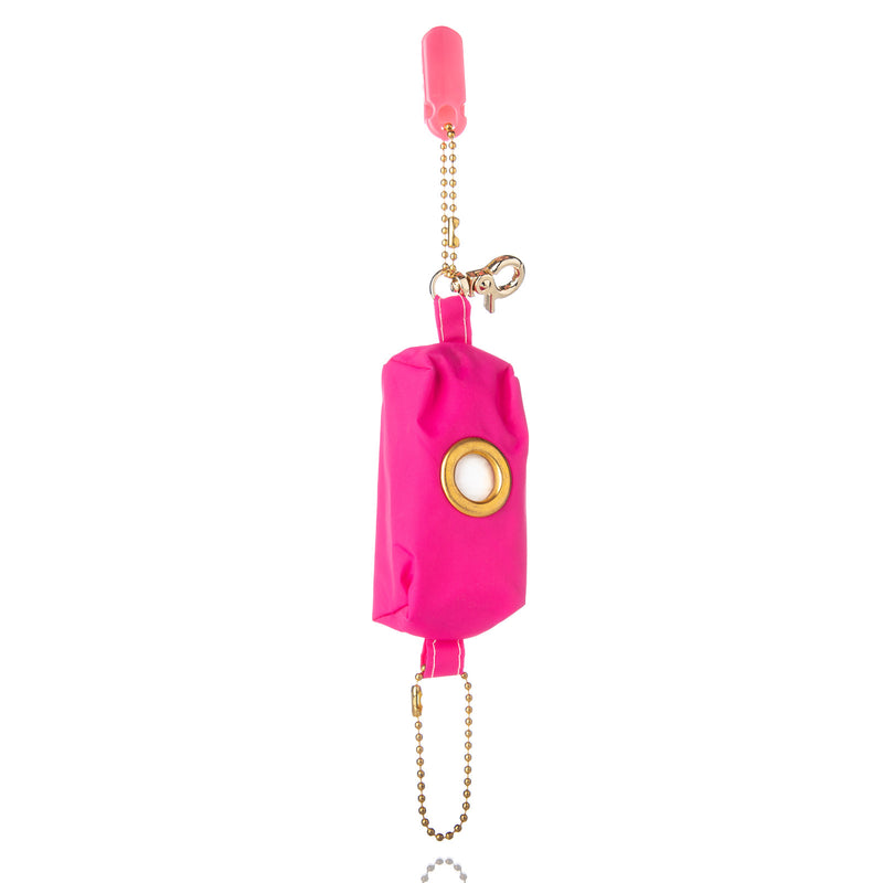Bright Pink Fusion (water resistant) Poopy Bag Holder