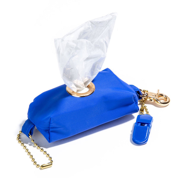 Navy Blue (water resistant) Poopy Bag Holder