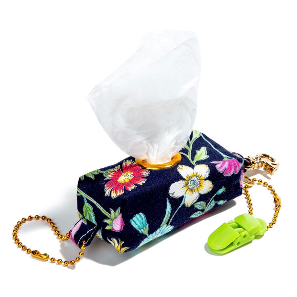 Fancy Floral Poopy Bag Holders