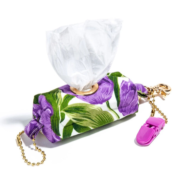 Purple Tulip Fields 🌷 Poopy Bag Holder