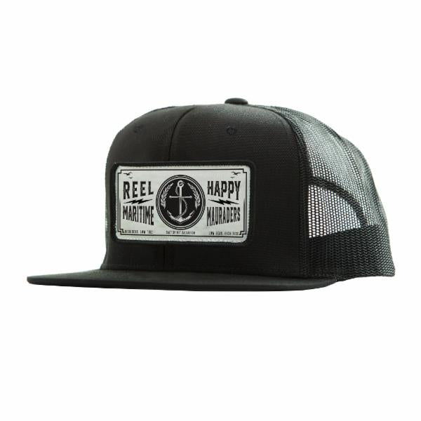 Anchor Trucker - Black - Reel Happy Co