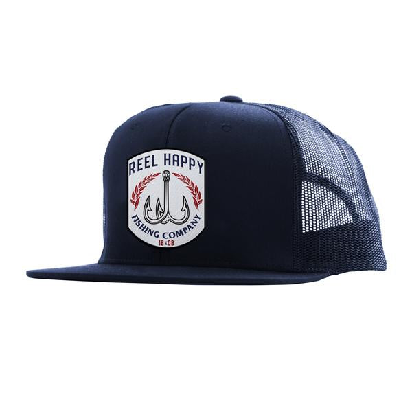 Competitor Trucker Snapback - Navy - Reel Happy Co