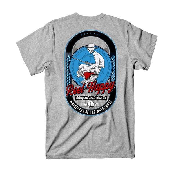 Norman T-Shirt - Heather Grey - Reel Happy Co