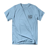 True School Pocket Tee - Light Blue - Reel Happy Co