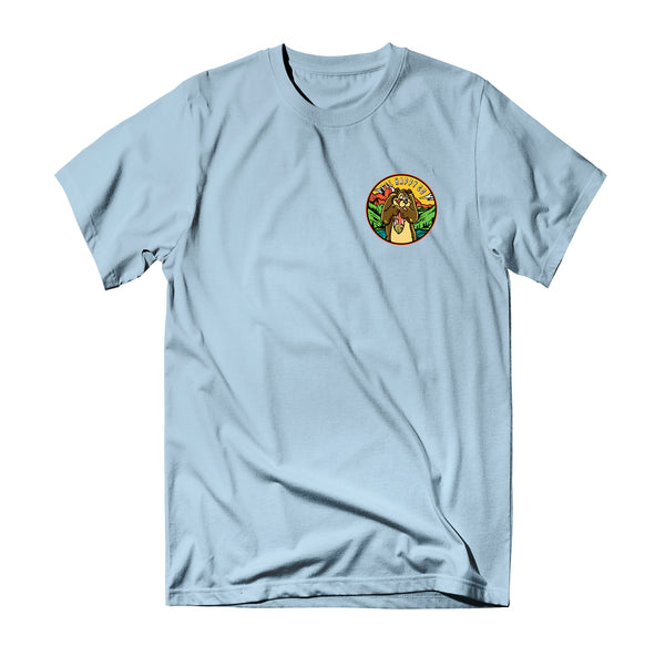 River Bounty Tee - Light Blue - Reel Happy Co