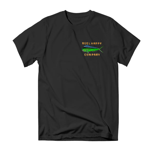 Fish Wranglers T-Shirt - Black - Reel Happy Co